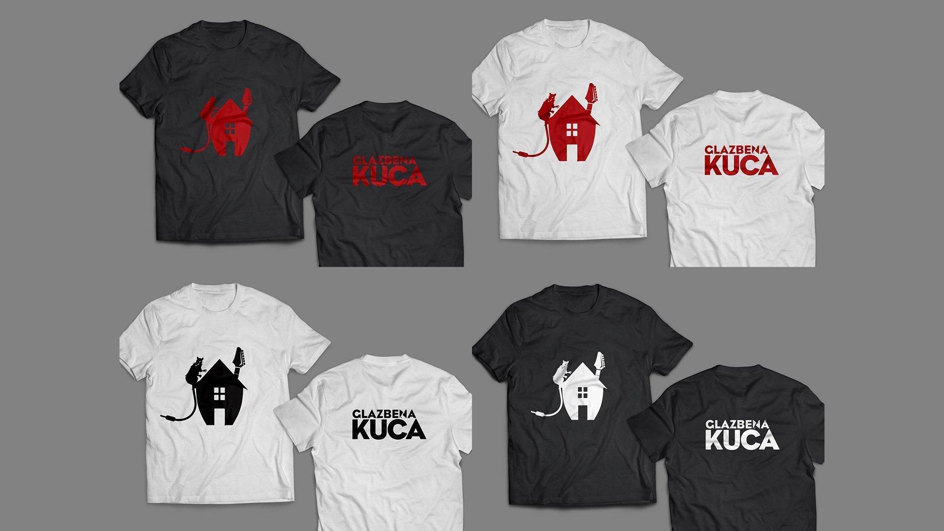 Glazbena Kuća majice