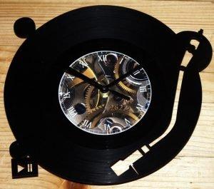 Gramofon vynil zidni sat