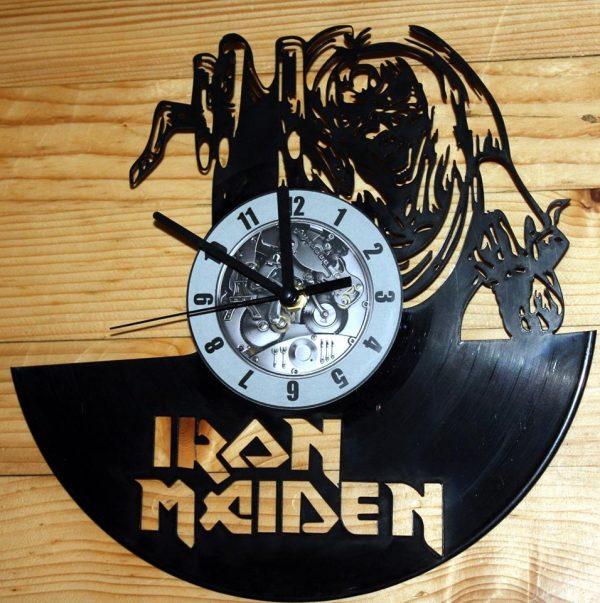 Iron Maiden vynil zidni sat