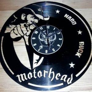 Motorhead vynil zidni sat