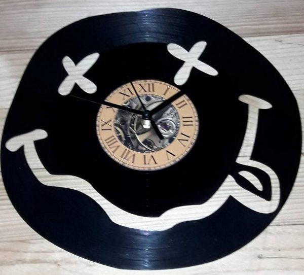 Nirvana vynil zidni sat