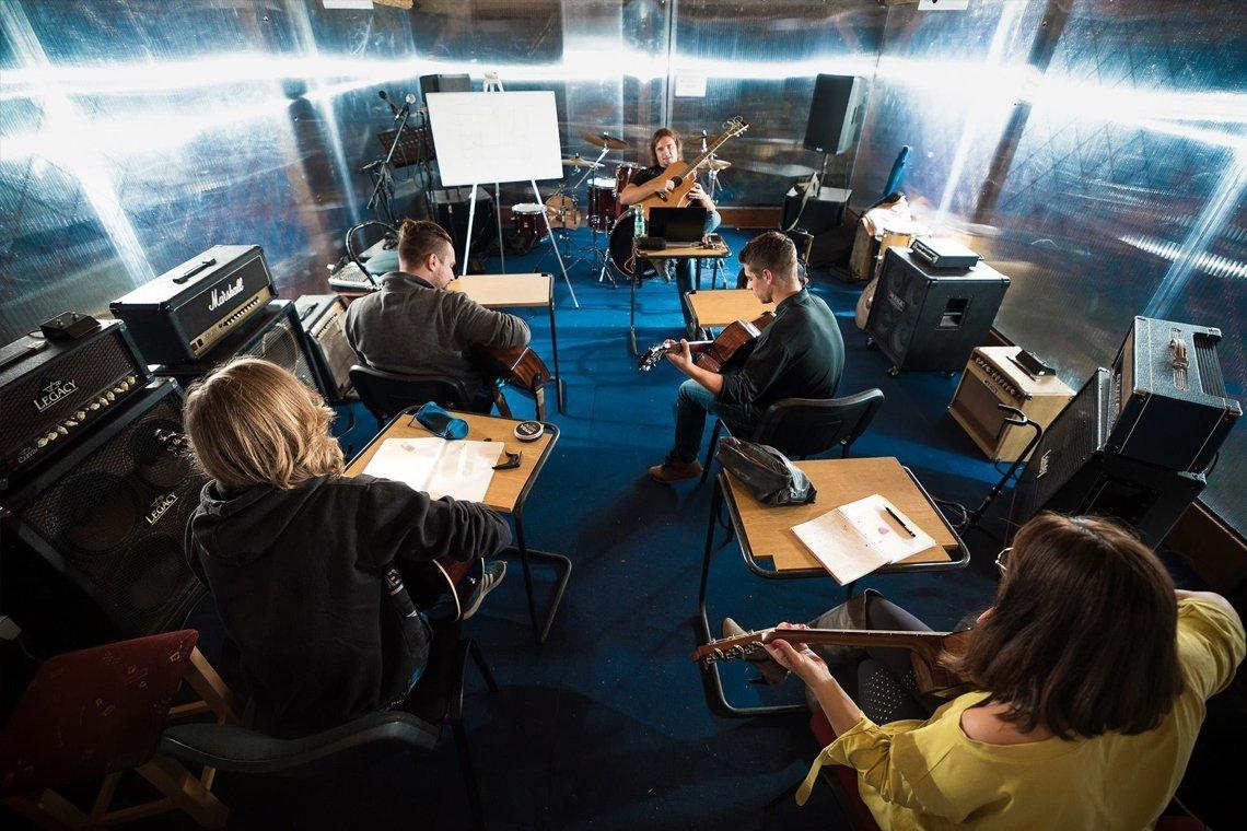 Učiona - Glazbena Kuća