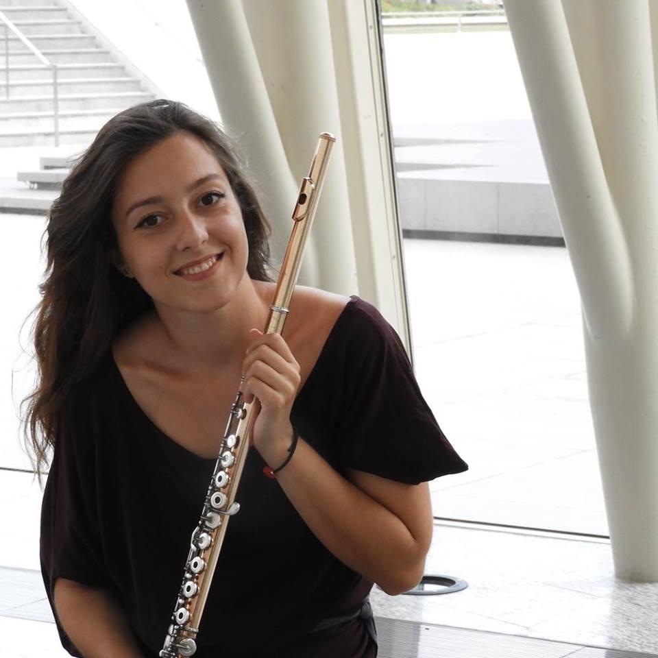 Flautistica Ivana Vukojević - biografija