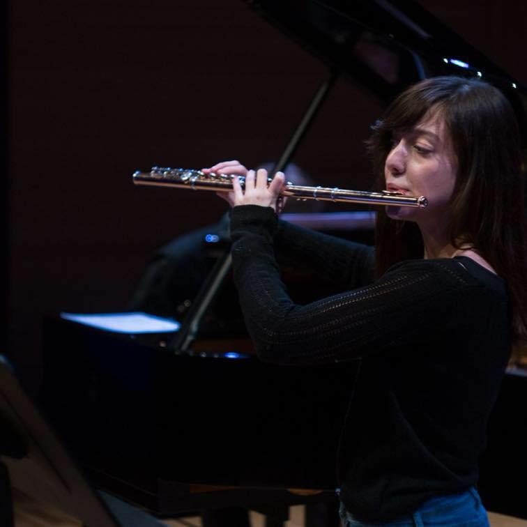 Flautistica Ivana Vukojević
