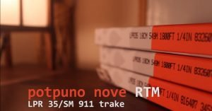 RTM LPR 35/SM 911 trake za analogno snimanje