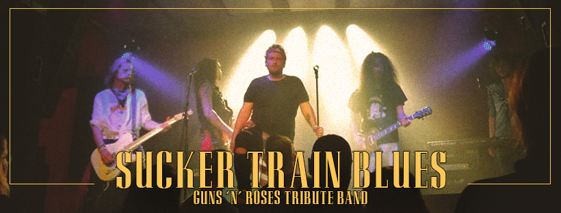 Guns n' Roses tribute by Sucker Train Blues Zagreb