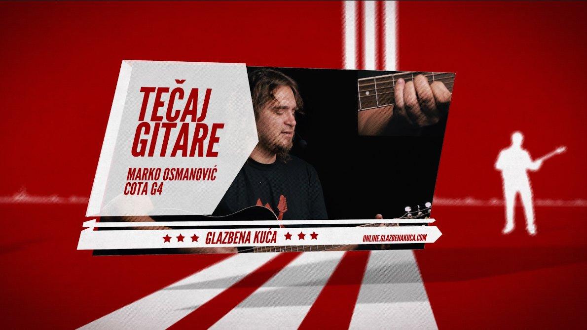 Online tečaj gitare za početnike s Markom Osmanovićem